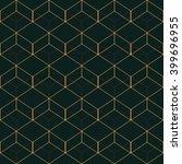 vector seamless pattern. modern ... | Shutterstock .eps vector #399696955