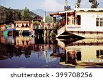 Houseboats On The Lake In...