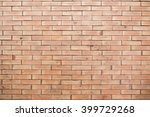 old vintage brick wall... | Shutterstock . vector #399729268