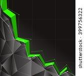 stock market graph and bar chart   Shutterstock . vector #399756322