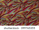 texture of colorful pattern... | Shutterstock . vector #399765355