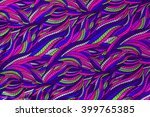 texture of colorful pattern... | Shutterstock . vector #399765385