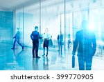 businesspeople meeting in... | Shutterstock . vector #399770905