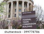 Small photo of WASHINGTON, DC - MARCH 2016: United States Federal Trade Commission building in Washington, DC
