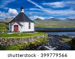small village church with...   Shutterstock . vector #399779566