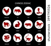 Red Polygon Chinese Zodiac...
