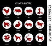 Red Polygon Chinese Zodiac...