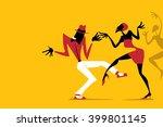 salsa   samba   rumba   latin...   Shutterstock .eps vector #399801145
