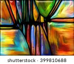 patterns of color series.... | Shutterstock . vector #399810688