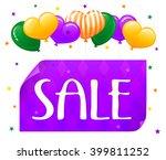vector eps 10. sale design for...   Shutterstock .eps vector #399811252