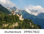Vaduz Castle In The Capital Of...