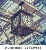 retro image of the vintage... | Shutterstock . vector #399839566