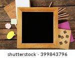 Small School Blackboard With...
