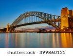 sydney harbour bridge  | Shutterstock . vector #399860125
