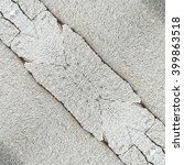 crack cement concrete texture... | Shutterstock . vector #399863518