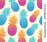 Colorful Pineapple With...