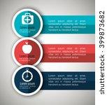 medical infographics design  | Shutterstock .eps vector #399873682