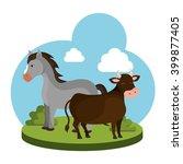 farm fresh design  | Shutterstock .eps vector #399877405