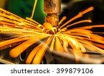 industrial welding automotive... | Shutterstock . vector #399879106