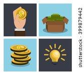 funding concept design  | Shutterstock .eps vector #399879442