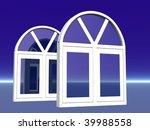 windows 3d illustration | Shutterstock . vector #39988558