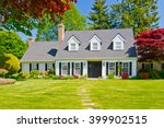 custom built luxury house with... | Shutterstock . vector #399902515