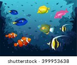Deep Sea Vector Illustration...