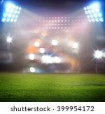 stadium in lights | Shutterstock . vector #399954172