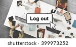 log out online technology...