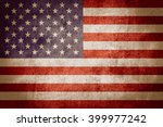 flag of united states or... | Shutterstock . vector #399977242
