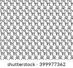 vector seamless pattern. modern ... | Shutterstock .eps vector #399977362