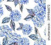 hand drawn seamless watercolor... | Shutterstock . vector #399986872