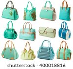 Turquoise Female Handbags...