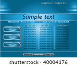 website template | Shutterstock .eps vector #40004176