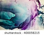 watercolor colorful splash... | Shutterstock . vector #400058215