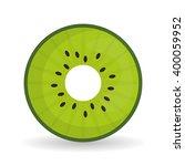 kiwi icon design    Shutterstock .eps vector #400059952