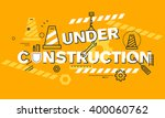 thin line flat design banner...   Shutterstock .eps vector #400060762