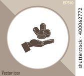 pills icon  pills vector icon | Shutterstock .eps vector #400062772