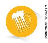 beer icon design | Shutterstock .eps vector #400065175