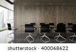 interior of  boardroom with... | Shutterstock . vector #400068622