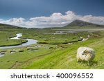 ceapabhal hill and tital inlets ... | Shutterstock . vector #400096552