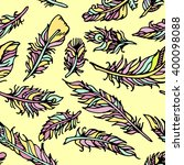 background of feathers   Shutterstock .eps vector #400098088