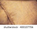 sack vintage background | Shutterstock . vector #400107706