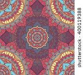 seamless pattern. vintage... | Shutterstock .eps vector #400119388