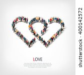 love people crowd | Shutterstock .eps vector #400142572