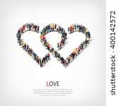 love people crowd   Shutterstock .eps vector #400142572