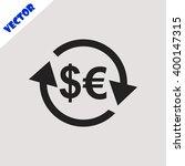 exchange icon. | Shutterstock .eps vector #400147315