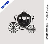 carriage icon. | Shutterstock .eps vector #400150612