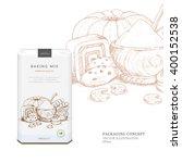 design packaging concept for...   Shutterstock .eps vector #400152538