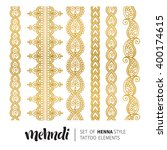 vector illustration of gold... | Shutterstock .eps vector #400174615